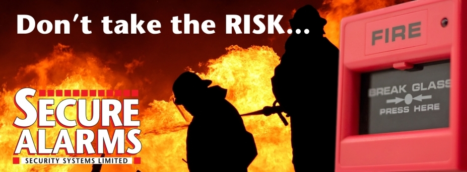 Don't take the risk... fit a Fire Alarm