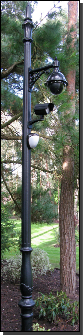 Decorative CCTV cameras